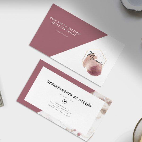 Diseño tarjetas - Diseño gráfico